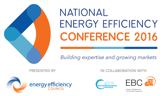 Energy Efficiency Council - 2016 Conference